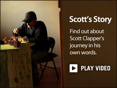 Find out more about Scott Clapper's journey in his own words.